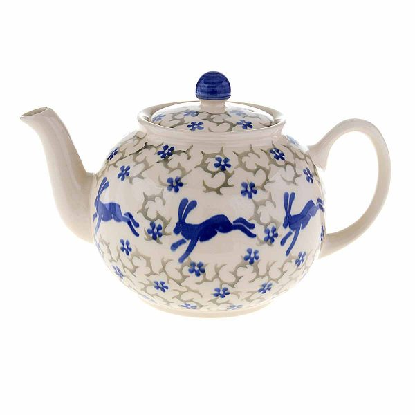 teapot on white background
