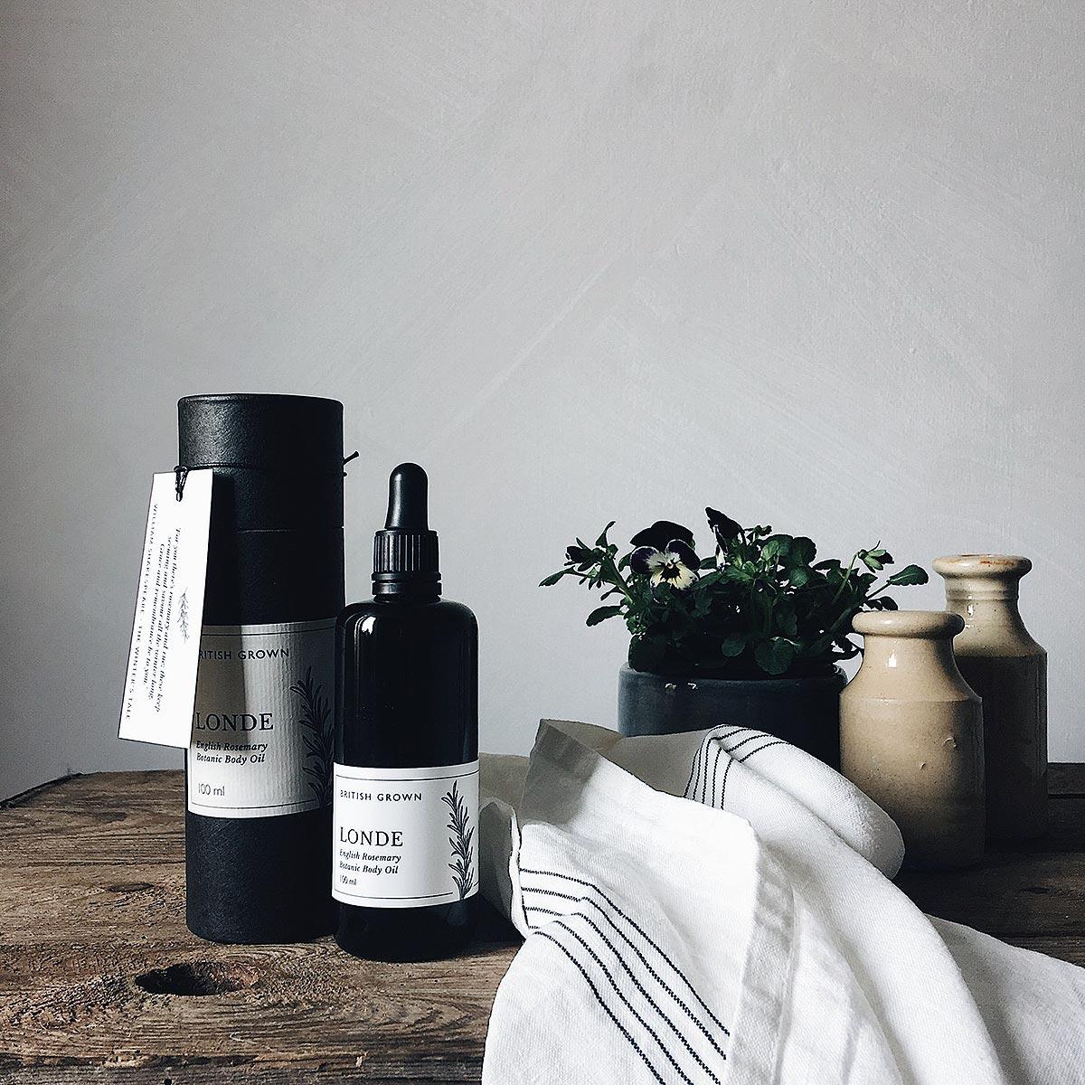 bottle packaging tea towel jars and plantnd