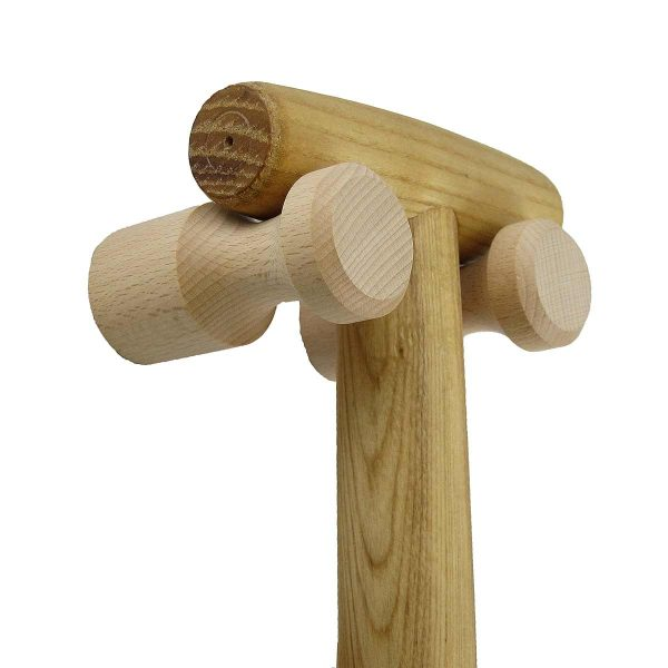 tool head resting on pegs