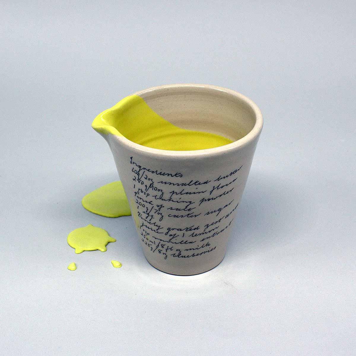 jug on white background
