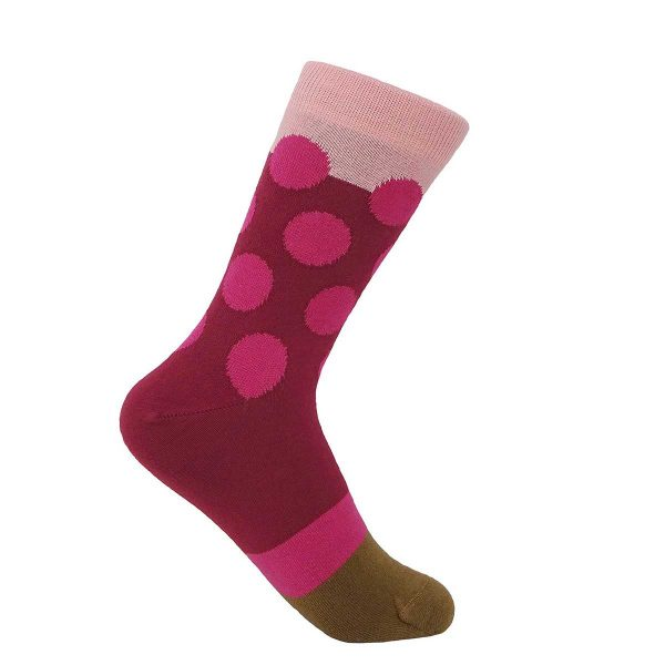 sock on white background