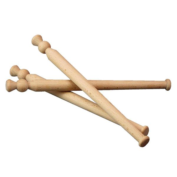 group of three spurtles on white background