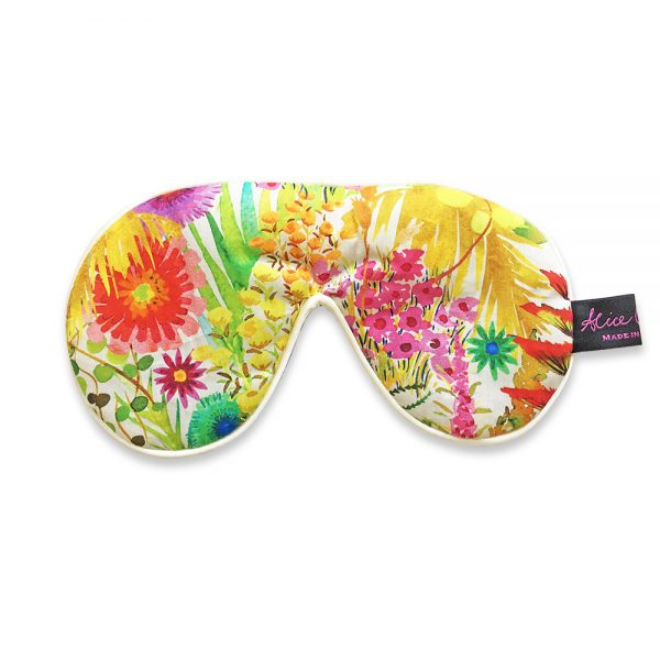 eye mask on white background