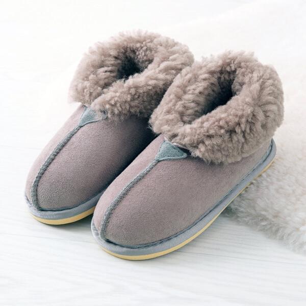 pair of slippers on floor